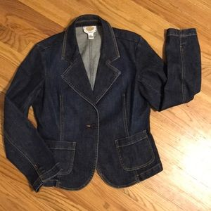 Talbots Petites Stretch Denim Jacket